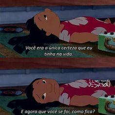 Fake Love, Sad Girl, Tumblr Wallpaper, Lilo And Stitch, Movie Quotes, Disney Pixar, Humor, Feelings, Movies