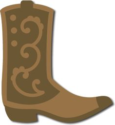 Cowboy Boot SVG File