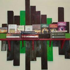 #tasarım #dizayn #design #palet #kütüphane #kitaplık #book #raf #yakma #ehliçay #enisgüven #ahşap