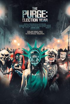 The Purge: Election Year Years after sparing the man who killed his son, former police sergeant Barnes has become head of security for Senator Charlie Roan, a Presidential candidate targeted for death on Purge night due to her vow to eliminate the Purge.