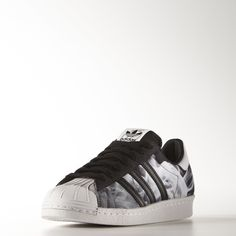 adidas originals - superstar 80's - baskets - noir