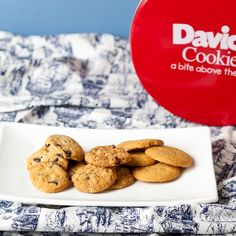 Bite-sized cookies make the perfect afternoon pick-me-up!