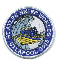 St Ayles Skiffs World Championships Ullapool 2013 badge