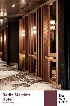 PROJECT_Berlin Marriott Hotel DEPARTMENT_Hospitality LOCATION_Berlin  Image: ©Wolfgang Zlodej Hall Design, Door Design, Berlin, Hotel Room Design, Marriott Hotels, Entrance Doors, Location, Banquet, Conference Room