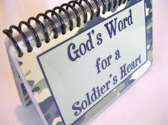 I think every soldier could use this.  I love this idea.  A great way to encourage the servicemember in your life.