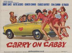 Carry On Cabby poster