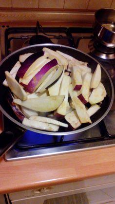 mari e la sua cucina: melanzane fritte in agrodolce
