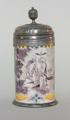 Nuemberg Faience Tankard ca. 1770
