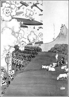 William Heath Robinson Patriotic Posters, Heath Robinson, Battle Of The Somme, Political Cartoons, Various Artists, Golden Age, Caricature, Illustrators, Modern Art