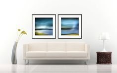 Large Wall Art Abstract Print Set - Pair Prints - Print Duo - Giclee Art Prints, Oversized Wall Art - Scottish Photography