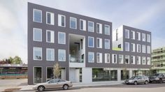 The SE Division Street in Portland is undergoing a renaissance and the latest realised building confirms this trend.
