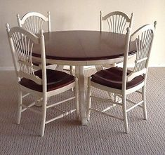 2 NEW ETHAN ALLEN COUNTRY FRENCH wheat back dining side chairs ...