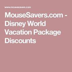 Mousesavers disneyland sweepstakes entry