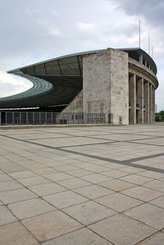 Berlin Olympic Stadium by Werner March 1936 and GMP Architekten 2004