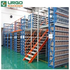Steel Platform, Industry Storage Racks, Mezanine for Sale Usage : Industrial, Warehouse Rack. Material : Steel. Structure : Rack. Type : Pallet Racking. Mobility : Adjustable. Height : 3-9m. Weight : 500-4000kg. Closed : Open. Development : New Type. Serviceability : Common Use. Surface Treatment : Powder Coating. Feature : Corrosion Protection. Certification : Ce. URGO Mezzanine Racking has multi-tiers of longspan shelving racks, it multiplies the utility of warehouse storage space and… Longspan Shelving, Warehouse Pallet Racking, Lifting Platform, Racking System, Stair Storage, Steel Structure, Storage Spaces, This Or That Questions, Warehouse Shelving