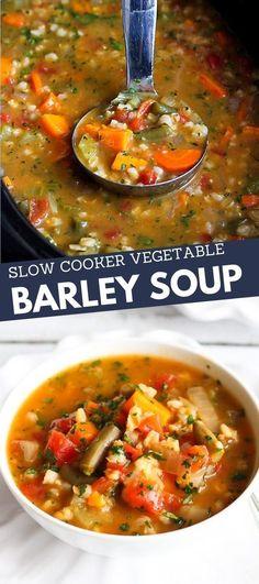 Vegetarian Crockpot Recipes, Autumn Recipes Vegetarian, Vegan Soups, Healthy Recipes, Crock Pot Soup Recipes, Vegetarian Chili Crock Pot, Chicken Recipes, Turkey Recipes, Cooker Recipes