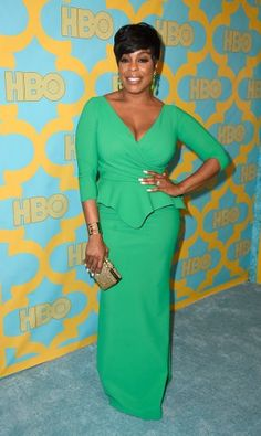 Niecy Nash - HBO Golden Globe Party in F/W 2014-2015 Isotta Long Dress