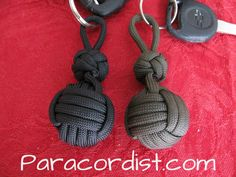 http://www.paracordist.com #paracord #Paracordist Creations LLC - Weighted Monkeys Fist Fob - 3/4, $6.95 (http://www.paracordist.com/weighted-monkeys-fist-fob-3-4/)