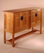 Glasgow Sideboard custom made by Kevin Rodel Furniture & Design Mission Furniture, Timber Furniture, Sideboard Furniture, Woodworking Furniture, Fine Furniture, Furniture Making, Modern Furniture, Furniture Design, Woodworking Projects