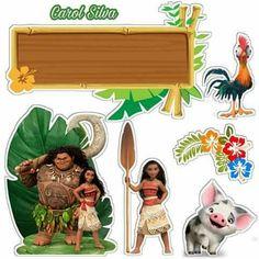 Moana Themed Party, Moana Birthday Party, Moana Party, 2nd Birthday Parties, Moana Hawaiian, Captain America Party, Troll Party, Baby Clip Art, Disney Scrapbook