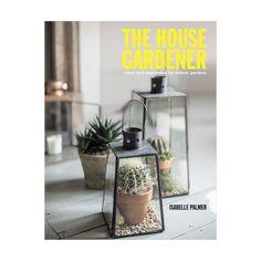 What a cool mini glass house. The House Gardener Hardcover | dotandbo.com