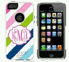 I phone 5 monogrammed case!!!!