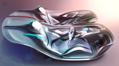 "Jaguar ""Two Can Do"" Vision GT interior on Behance"