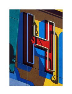 Robert Cottingham, An American Alphabet: H, 2010, Tandem Press