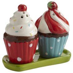 Cupcake Salt & Pepper Shakers at Pier 1