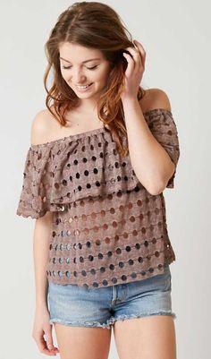 7194eade33093c Gimmicks Off the Shoulder Top - Women s Clothing