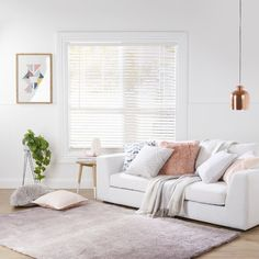 White PVC Window Roller Blind Square Home /& Office Eyelet Easy Fitting 90x160cm