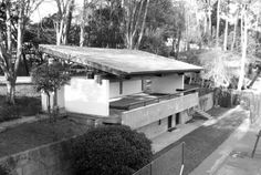 Fernando Távora, Pavilhão Ténis, Quinta da Conceição, Leça, Portugal, 1957