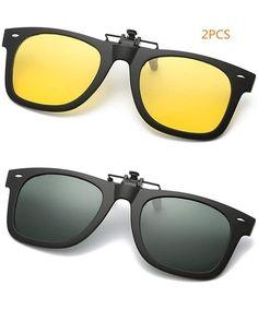 Clip on Sunglasses-2-Pack Unisex Sunglasses Polarized Clip on Flip-Up Prescription Sunglasses Eyeglass - Type 3 - CX18HXDM6H9 #Clip#on#Sunglasses#2#Pack#Unisex#Sunglasses#Polarized#Clip#on#Flip#Up#Prescription#Sunglasses#Eyeglass#Type#3#CX18HXDM6H9 Clip On Sunglasses, Polarized Sunglasses, Sunglasses Women, New Clip, Prescription Sunglasses, Outdoor Woman, Type 3, Vintage Men, Eyeglasses