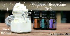 How to Make a Whipped Sleepytime Rub