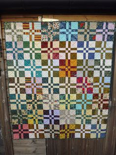 Four Patch Variation Quilt | by Barton Baker