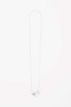 COS | Long interlock necklace