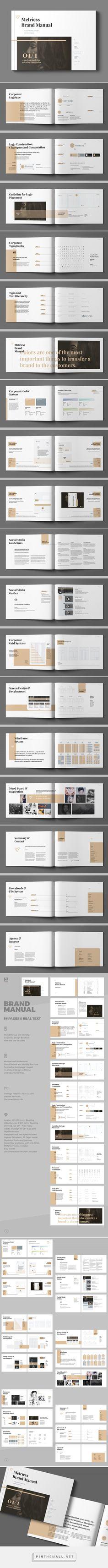 Brand Manual on Behance - created via https://pinthemall.net