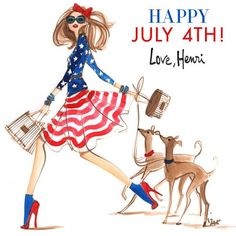 Happy 4th of July from Henry Bendel