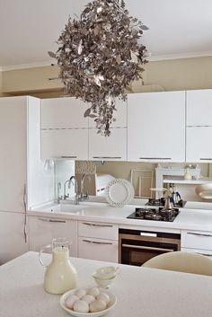 [Home] Estudio de 34 m² en blanco femenino y delicado | Decorar tu casa es facilisimo.com