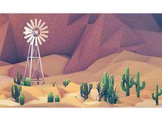 Desert  #illustration #design #inspiration