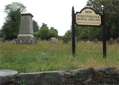 Thomas Miner - Wequeteduock Burial Ground  (Miner descendent-m -Wales)