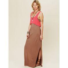 FP Beach Emma Too Fer Dress ($88) ❤ liked on Polyvore