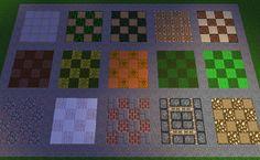Minecraft Floor Patterens