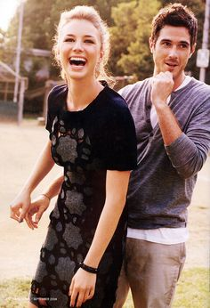 Emily Vancamp & Dave Annable - Brothers & Sisters is my new netflix addiction.