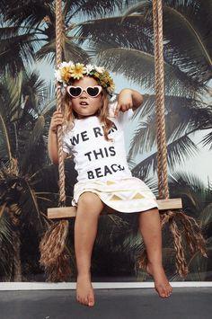 We Run This Beach Tee | Oopsy Daze -- cutest shirt ever