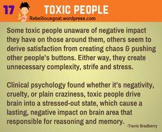 Psychology 17 - Toxic People