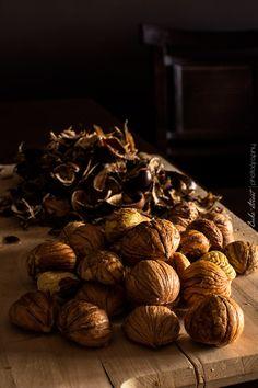 Cómo hacer Marrons Glacés - Bake-Street.com Pistachios, Almonds, Stuffed Mushrooms, Baking, Vegetables, Peanuts, Pine, Food, Appetizers
