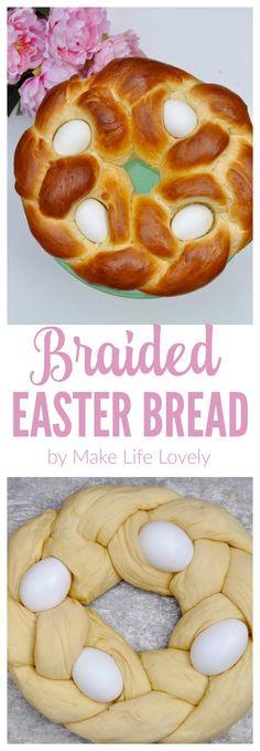 Diane's Greek Braided Easter Bread Recipe — Dishmaps