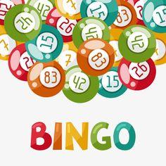 Bingo or lottery game illustration with balls. Gambling Games, Gambling Quotes, Bingo Sites, Lottery Games, Gambling Machines, Card Tattoo, Bingo Cards, Life Humor, Retro