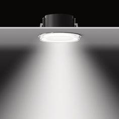 Una iluminación adecuada puede ayudar a la orientación de los visitantes. Nuevos downlights LED - Bega55944. LLEDO+BEGA. #TimeForNewConcepts